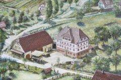 Der Hirsch war ehemals der größte Gasthof in Rotfelden.
