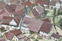 Das Höfle im Zentrum Rotfelden.